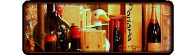 L'Osteria dell'oca - Particolare dell'oca con in vini